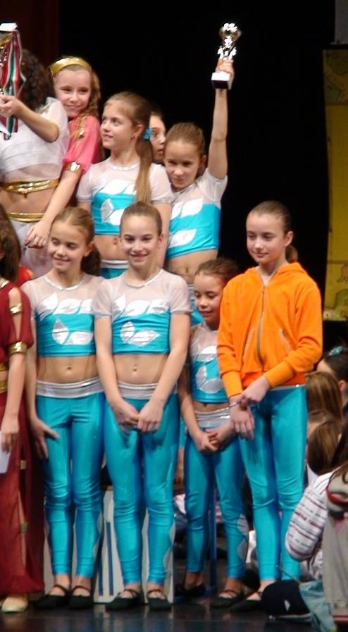 Showtime Fitness gyerek csapat Klauzál kupa3. hely